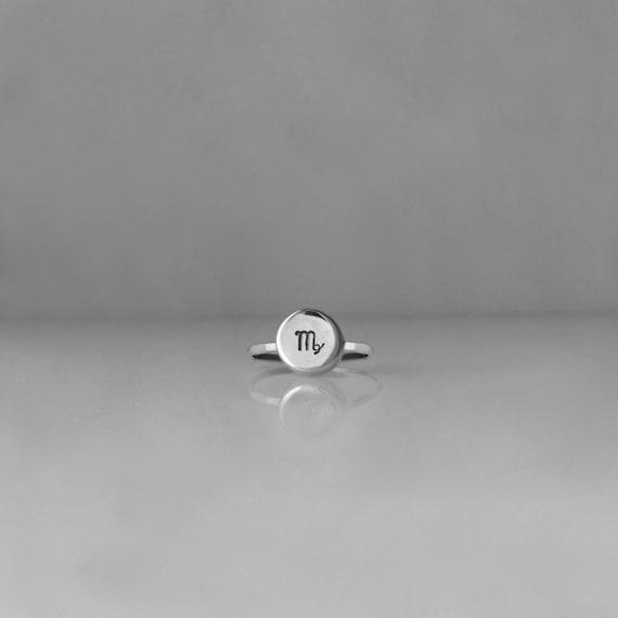 Virgo Ring, Virgo Jewelry, Zodiac Ring, Horoscope Ring, Virgo, Astrology Ring, Zodiac Sign Ring, Astrology Jewelry, Constellation, r247s