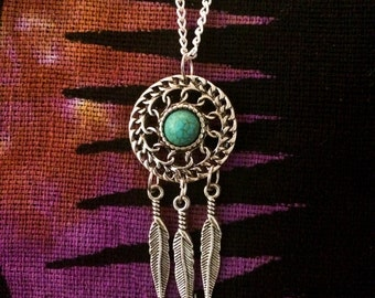 Dreamcatcher / Southwestern / Free Spirit Necklace