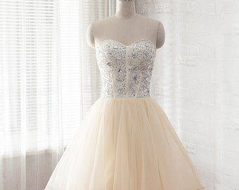 short prom dress, formal dress, homecoming dress, evening dress