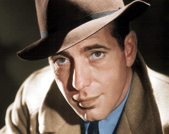 Humphrey Bogart Color Print. # 1