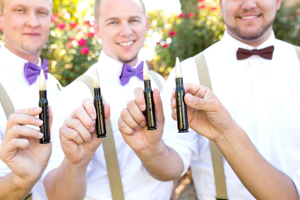 Wedding Gifts Best Man: Best Man Gift. Engraved 50 Caliber Bullet Bottle Opener With