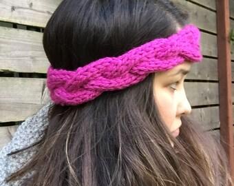 Braided Knit Earwarmer/Head band