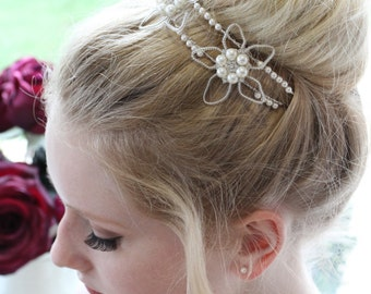 BRIDAL HEADPIECE / Tiara / Headband - LOLA