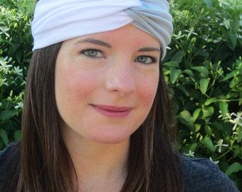 North Carolina Headband, Team Headbands, Basketball Headbands, Team Headbands, Sport Headbands, UNC, Light Blue and White Headband