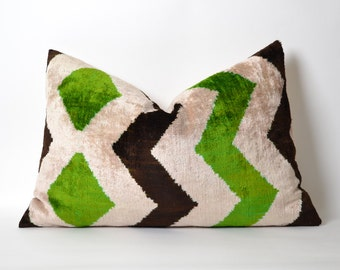 green brown throw pillows etsy. Black Bedroom Furniture Sets. Home Design Ideas