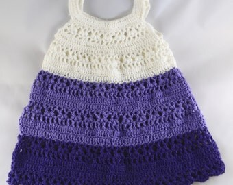 Purple Ombre Baby Dress (6-8 months)
