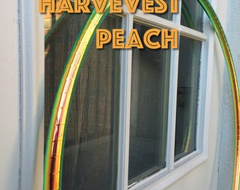 Harvest Peach Polypro or HDPE Hoop