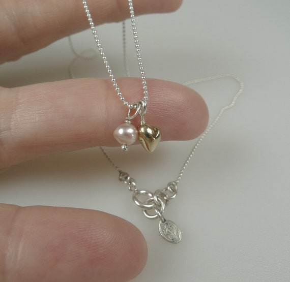 small heart necklace for girlfriend june birthstone necklace. Black Bedroom Furniture Sets. Home Design Ideas