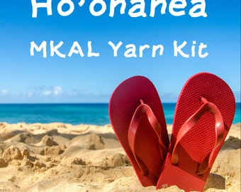 Ho'onanea Shawl MKAL Yarn Kit in your choice of size and color