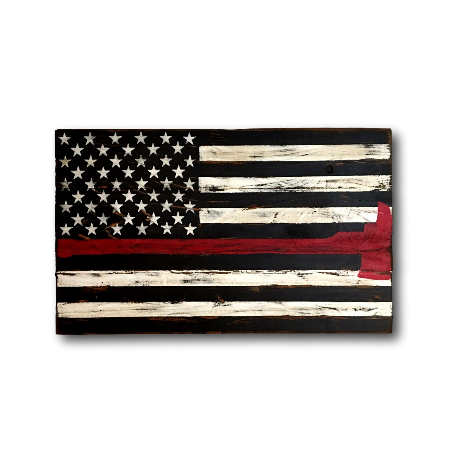 Ohio state sign block o sign graduation gift dorm decor thin red line flag firefighter axe sign firefighter gift firefighter wood flag amipublicfo Image collections