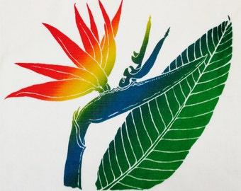 Hawaiian Bird of Paradise Kitchen Towel