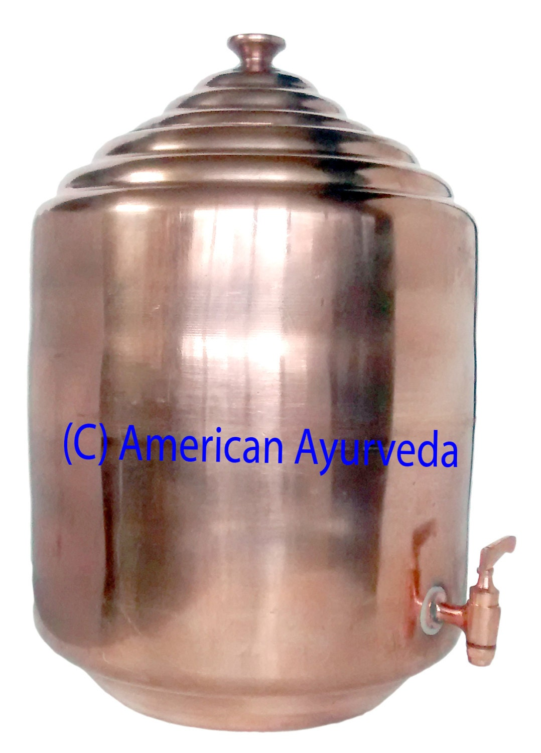 Free shipping 4 gallon 15 liters pure copper by for Copper water tank
