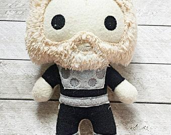 Thor God of Thunder Inspired Stuffie/Plushie