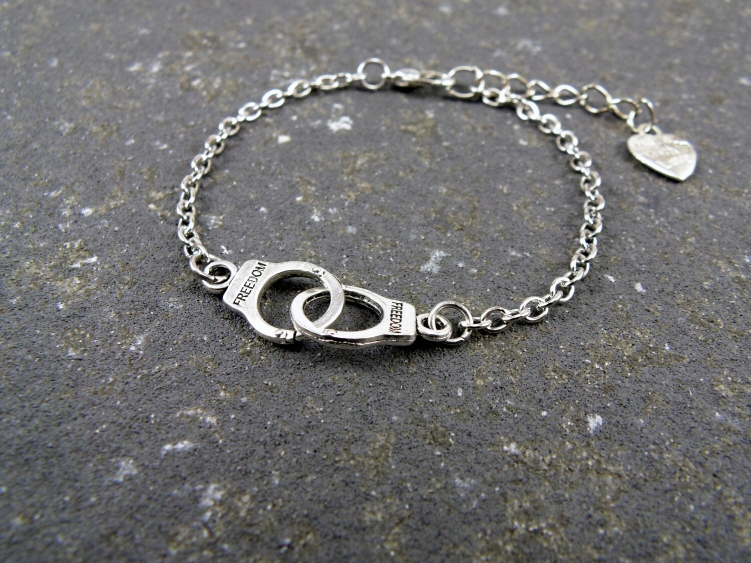 handcuffs bracelet partners in crime layering by