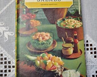Favorite Recipes of America Salads Cookbook Vintage Book PanchosPorch