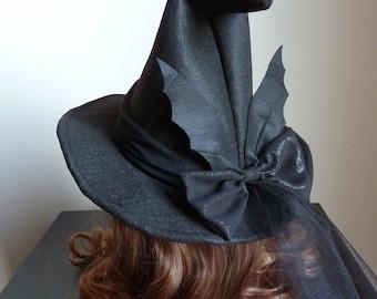 Bat Witch Hat