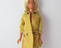 Malibu Barbie Doll 1970s Mattel Sun Kissed Barbie, Blonde Hair - Wearing Clone Doll Fashion