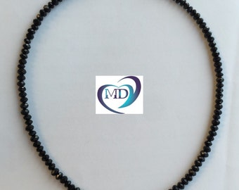 """The """"Taylor"""" Choker Necklace/14K Gold Filled or 925 Sterling Silver with Tiny Crystal Beads"""