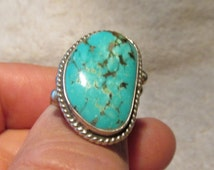 NAVAJO TURQUOIS SILVER Ring