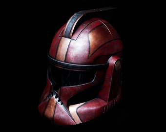 Steampunk Style Custom Painted Clone Trooper Helmet