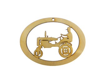 Tractor Ornament - Tractor Gift - Tractor Decoration - Tractor Ornaments - Farming Ornaments - Tractor Gifts - Personalized Free