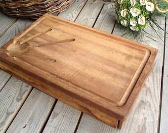 Planche d couper en bois etsy fr - Planche a decouper bois ...