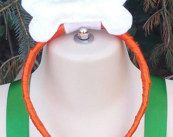 Bone Clip, Bone Headband, Bone Hair Accessory, Pebbles Bone, Pebbles Hair Accessory, Pebbles Inspired, Handmade Bone