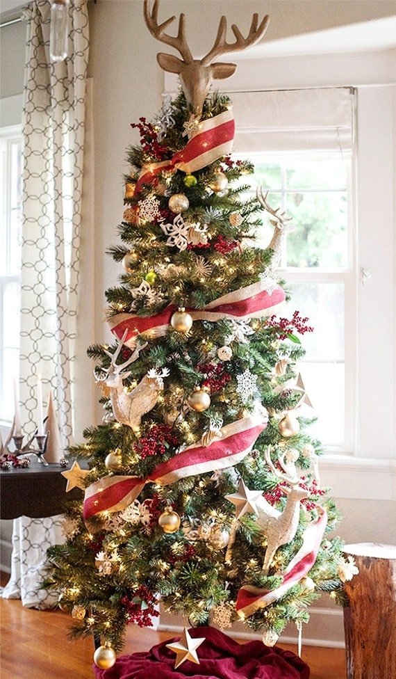Primitive Christmas Tree.Primitive Christmas Tree Ideas For Your Traditional Themed