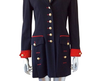 Escada Vintage Margaretha Ley Blazer Jacket