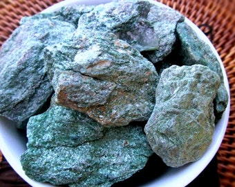Fuchsite Natural Stone, Gentle Energy, Earth Element, Self Worth, To Be Of Service, Holistic, Well Being, Joy