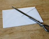Hand Forged Letter Opener, NOW THINNER & SHARPER, Father's Day Gift, Gifts for Women, Graduation Gift