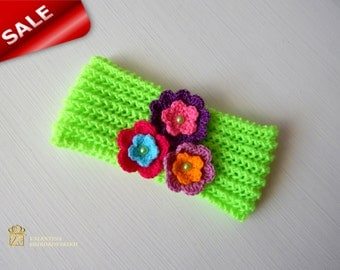 Crochet Headband. Baby Headband. Hair Accessories. Baby Girl Accessories. Little Girl's Crochet Headband