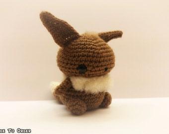 Crochet Eevee Inspired Chibi Pokemon
