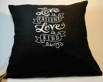 Love is Patient Cushion
