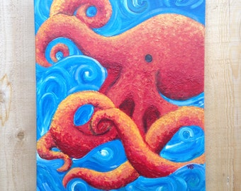 Octopus -- Original Painting