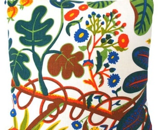 Josef Frank Fabric Cushion Cover SALE now 29.99 Pounds was 39.99 Pounds Aralia Printed Linen