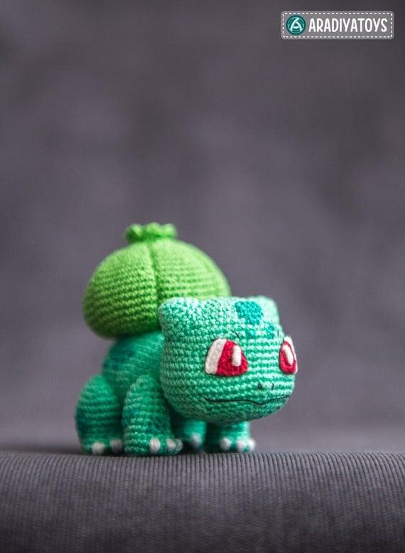 Crochet Pattern of Bulbasaur from
