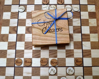 Chess & Checkers: Three Games in One!