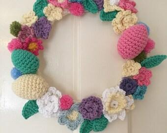 Crochet Wreath for all Seasons