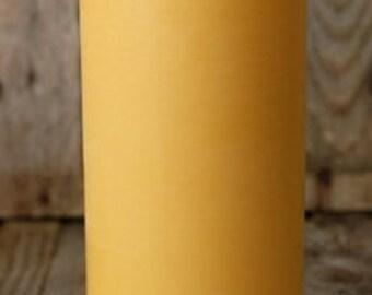 """6"""" x 3""""  Beeswax Pillar Candle"""