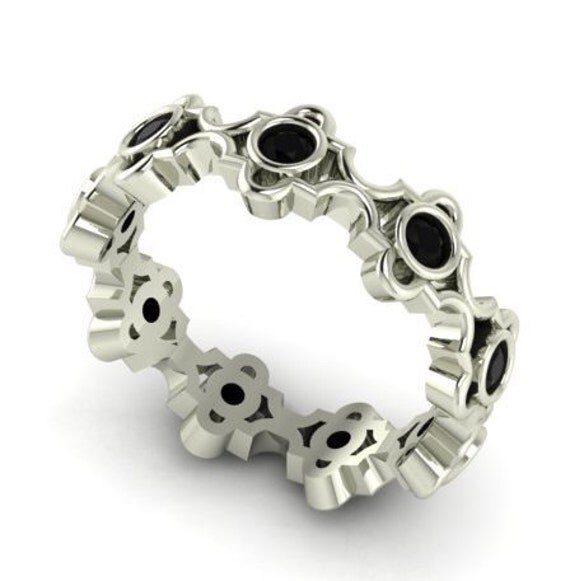 engagement bands wedding band diamond band boho style ring