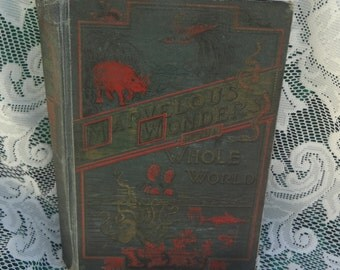 Marvelous Wonders of the Whole World Edited by Henry Davenport Northrop, D.D. 1891