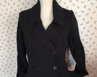 SALE!!! vintage women sweater, blue jacket, vintage sweater, 80s 90s nautical jacket