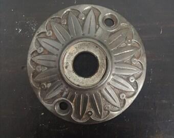 Sunflower Cast Iron Vintage Rosette 530781