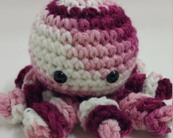 Crochet Plush Octopus, Octopus Toy, Octopus Stuffed Animal, Octopus Plush Crochet, Octopus Toy, Stuffed Octopus, Toy Octopus Crochet