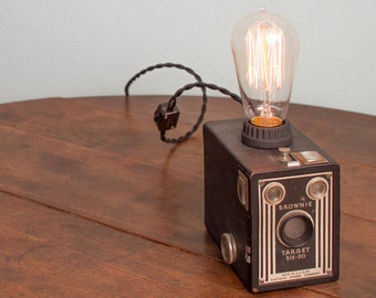 Brownie Box Camera Lamp