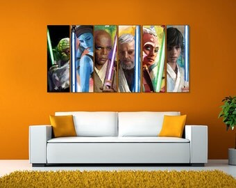 Choose Any 4 Justice League 12x36 X 1 1 2 Canvas