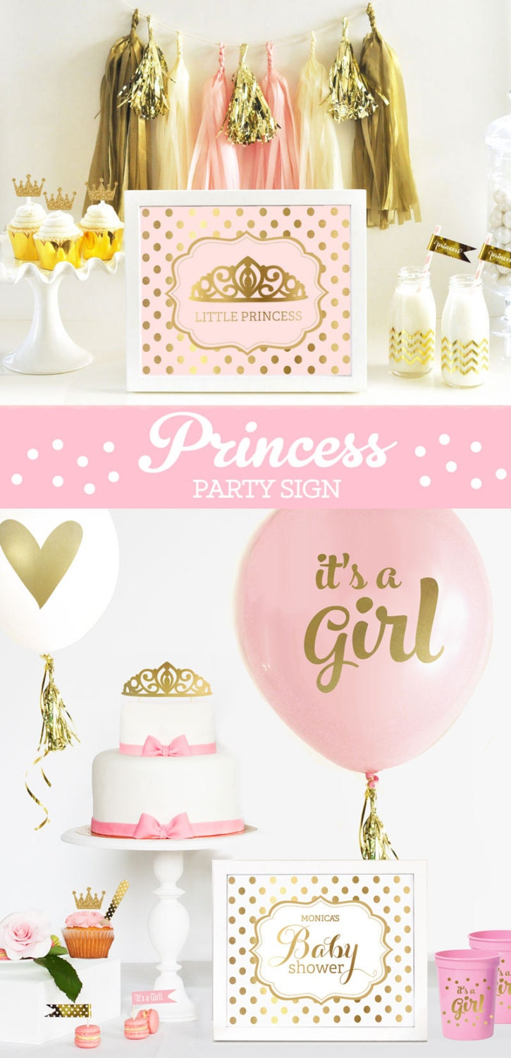 princess party centerpieces princess baby shower centerpiece