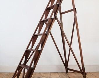 Wonderful 6 Tread Jones's Patent Lattistep step ladder