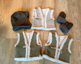 Child warm vest